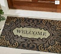 Recycled Rubber Welcome Doormat