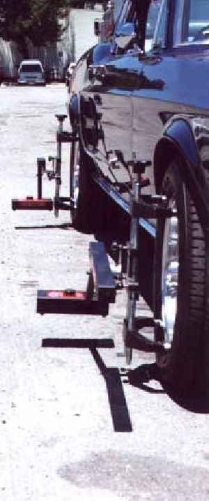 Tl-12 Portable Laser Wheel Alignment Systems