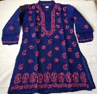 hand embroidered kids ethnic wear