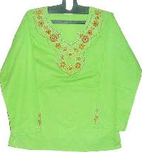 Fashion Embroiderd Tops Skur - 05010