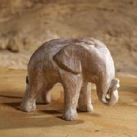 Wooden Animal Statues