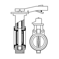Chemical Flow Control Butterfly Valves