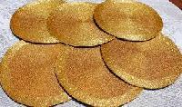 Golden Beaded Placemat