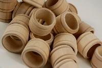 Natural Wood Napkin Rings