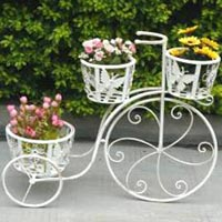 Decorative Cycle With 3 Baskets