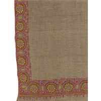 Handmade Embroidery Woolen Shawl (01)