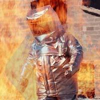 Fire Retardant Full Body Suit