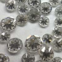 Single Cut White Natts Diamonds