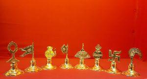 Astmangle Brass Pooja Bell