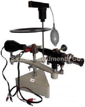 Millikans Oil Drop Apparatus