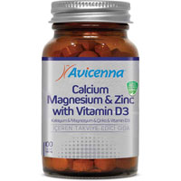 Calcium Magnesium Zinc Vitamin D3 Tablets