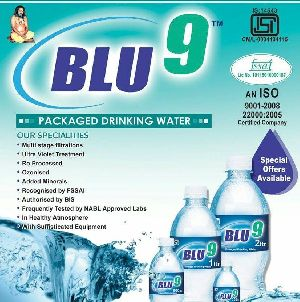 Blu 9 Mineral Water