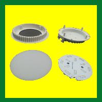 Housing/ Raw Material with Mcpcb and all Accessories for Led Indoor Lights