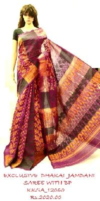 Exclusive Handwoven Saree On Wholesale