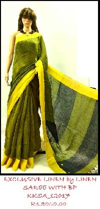 Exclusive Linen Saree Collection for this SUMMER