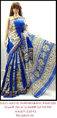 Pure Silk Saree  tantalizing designs and themes
