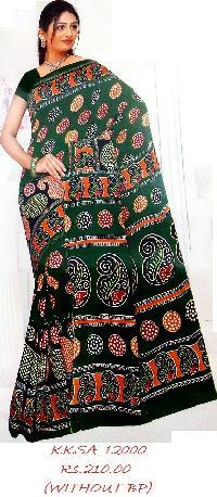Soft Cotton Printed Saree On Wholesale