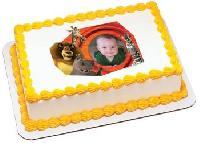 Customised Birthday Photo Cakes