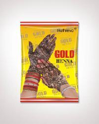 Gold Henna Mehndi