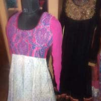 Hand Embroidered Anarkali Suits