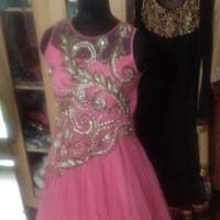 Ladies Hand Embroidered Gown