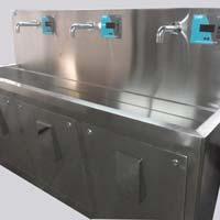 Triple Bowl Surgical Scrub Sink