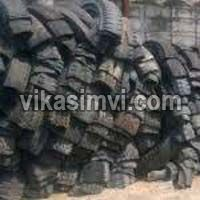 Used Cut Tyre Scrap