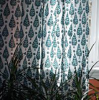 Hand Printed Curtain