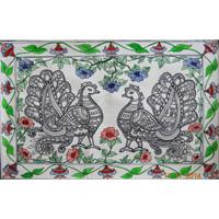 Madhubani Paper Painting