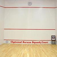 Squash Court Hard Plaster