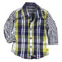 Kids Cotton Full Sleeve Shirt