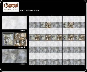 Ceramic Digital Wall Tiles 250 X 450 Mm