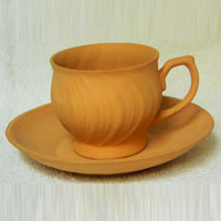 Terracotta Disposable Tea Cup
