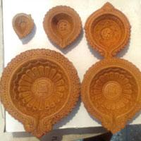 Terracotta Diya