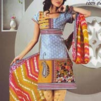 Ladies Unstitched Churidar Suits
