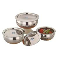 Stainless Steel Bowl Set with Lid