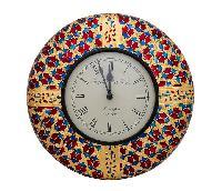 Clock (12 Inches ) with Meenakari Work