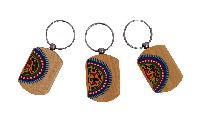 Warli Work Key Chains