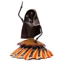 INDIKALA Rural woman Iron Gagra Doll ( 10 Inch Tall)