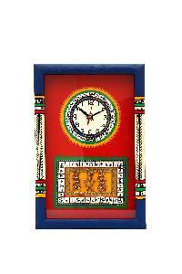 Dhokra Work Clock