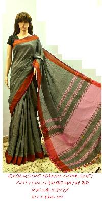 Soft Cotton Saree could be used for official, casual and daily wear