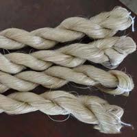 Semi Bleached Kosa / Tasar Silk Reeled Yarn