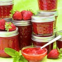 Fresh Strawberry Jams