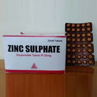 Zinc Sulphate 20 MG Tablets