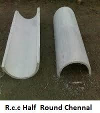 Rcc Half Round Pipes