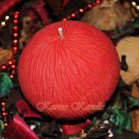 Designer Round Ball Candle