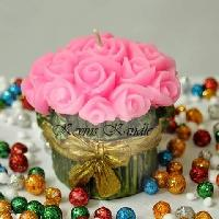 Flower Bouquet Aroma Candle