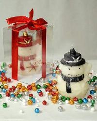Snow Man Designer Aroma Candle
