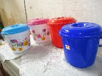 Plastic Lid Buckets
