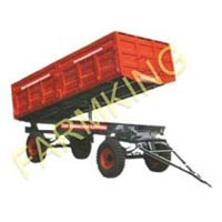 Double Axle Hydraulic Tipping Trailer